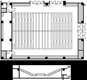 センターステージ形式<1>(Dパターン)