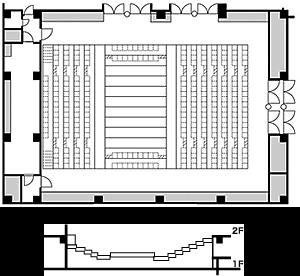 センターステージ形式<2>(Fパターン)